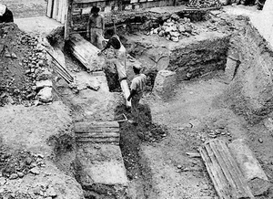 15 – Excavation of the Roman Theatre in the 1960s