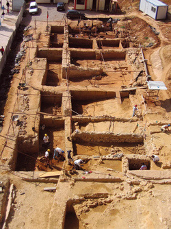 18 – Archaeological dig on the Encosta de Santana, between 2004 and 2006 (pre and protohistoric remains)